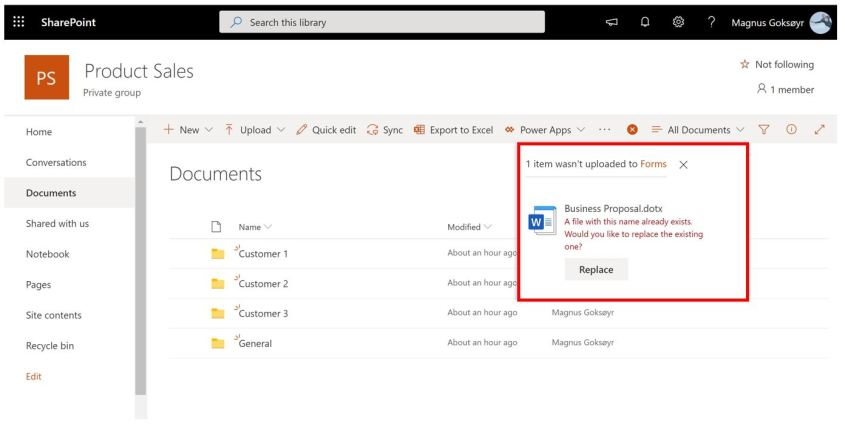 Easy Use of Office Document templates in Microsoft Teams